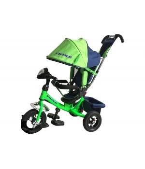 Велосипед детский 3х колесный с ручкой Trike TL2G c накачивающимися колесами
