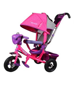Велосипед детский 3х колесный с ручкой Trike TB7DS