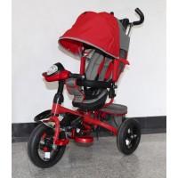 Велосипед детский 3х колесный с ручкой Trike TL4R / TL4VG c накачивающимися колесами