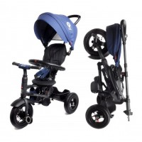Велосипед детский 3х колесный с ручкой Q PLAY RITO с накачивающимися колесами