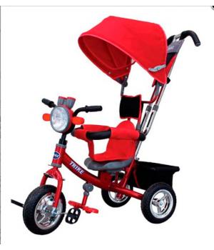 Велосипед детский 3х колесный с ручкой Trike ST1AMR