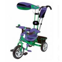 Велосипед детский 3х колесный с ручкой Trike ST1B