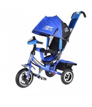 Велосипед детский 3х колесный с ручкой Power JP7BR c накачивающимися колесами