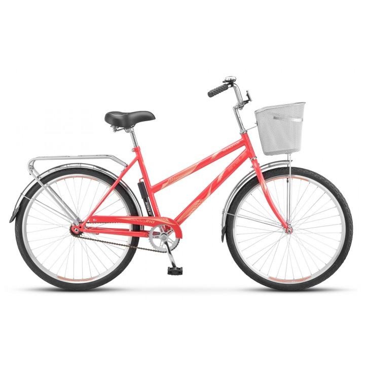 Велосипед дорожный Stels Navigator 210 Lady колесо 26, с корзиной
