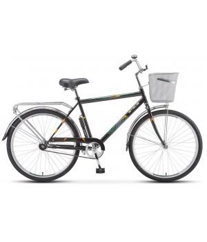 Велосипед дорожный Stels Navigator 200 мужская рама колесо 26, с корзиной