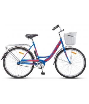 Велосипед дорожный Stels Navigator 245 заниженная рама колесо 26, с корзиной