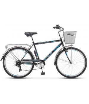 Велосипед дорожный Stels Navigator 250 мужская рама колесо 26, с корзиной