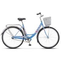 Велосипед дорожный Stels Navigator 345 заниженная рама колесо 28, с корзиной