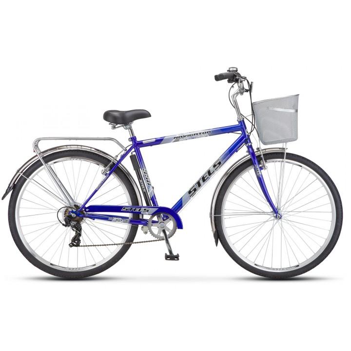 Велосипед дорожный Stels Navigator 350 мужская рама колесо 28, с корзиной