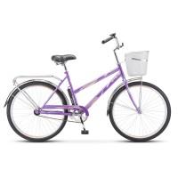 Велосипед дорожный Stels Navigator 200 Lady колесо 26, с корзиной