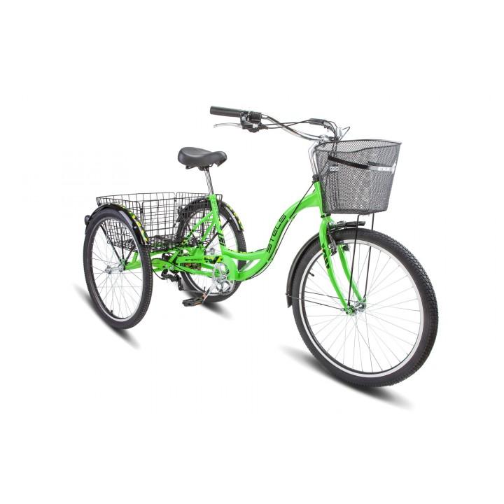 """Велосипед дорожный 3-х колесный Stels Energy-VI 26"""" V010 колесо 26, с двумя корзинами"""