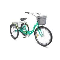 Велосипед дорожный 3-х колесный Stels Energy 2 колесо 26, с двумя корзинами
