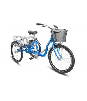 """Велосипед дорожный 3-х колесный Stels Energy-IV 24"""" V020 колесо 24, с двумя корзинами"""