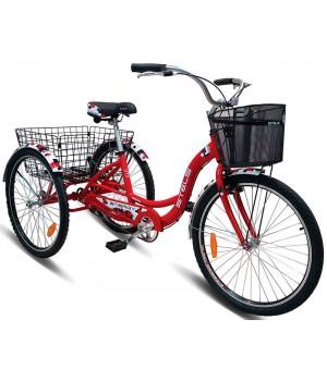 """Велосипед дорожный 3-х колесный Stels Energy-I 26"""" V020 колесо 26, с двумя корзинами"""
