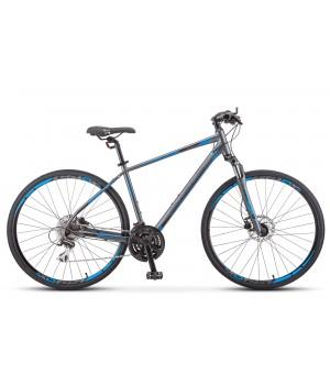 Велосипед гибридный Stels Cross 150D V010 мужская рама колесо 28