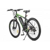 Велогибрид Eltreco XT 600 D (Чёрно-зелёный-2383)