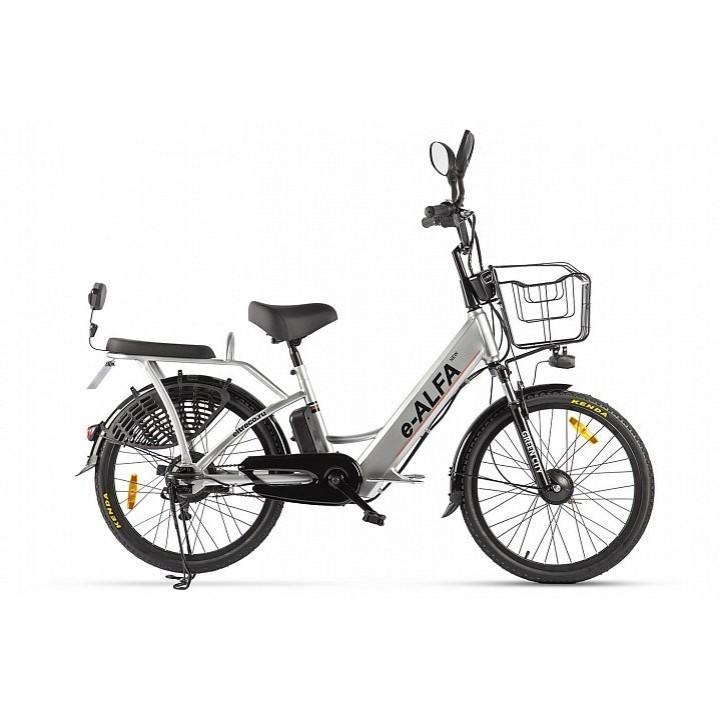 Велогибрид Eltreco GREEN CITY e-ALFA New (Серебристый-2152)