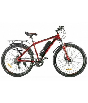 Велогибрид Eltreco XT 800 new (красно-черный-2381)