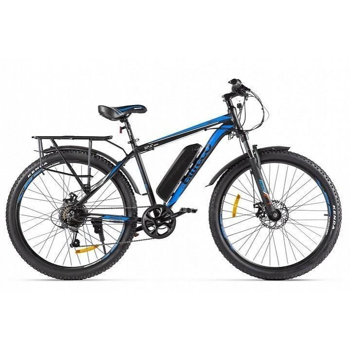 Велогибрид Eltreco XT 800 new (черно-синий-2135)