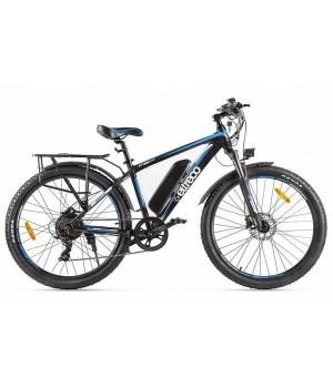 Велогибрид Eltreco XT 850 new (Черно-синий-2144)
