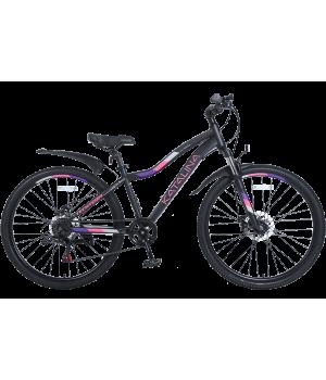 Велосипед горный женский Tech Team KATALINA 26 2021 черный 2021г. колесо 26, c дисковыми тормозами