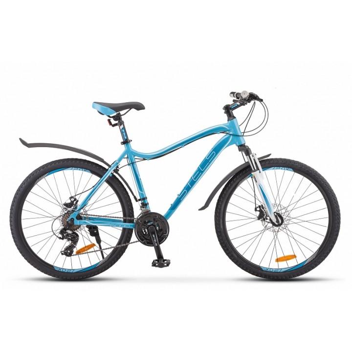 Велосипед горный Stels Miss 6000 MD disc V010 2019г. c дисковыми тормозами голубой