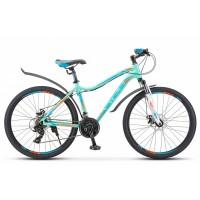 Велосипед горный Stels Miss 6000 MD disc V010 2019г. c дисковыми тормозами