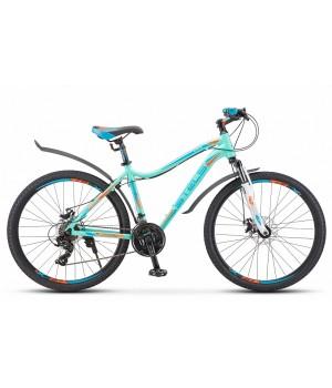 """Велосипед горный Stels Miss 6000 MD disc 26"""" V010 2021г. c дисковыми тормозами"""