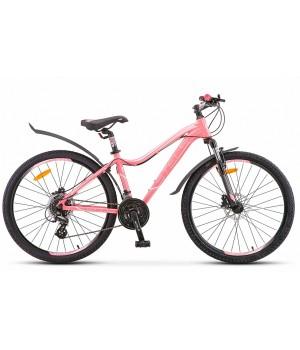 """Велосипед горный Stels Miss 6100 D disc 26"""" V010 2021г. c дисковыми гидравлическими тормозами"""