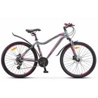 Велосипед горный Stels Miss 6100 D disc 2021г. c дисковыми гидравлическими тормозами
