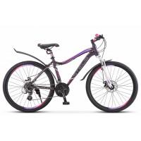 Велосипед горный Stels Miss 6100 MD disc V030 2021г. c дисковыми тормозами синий