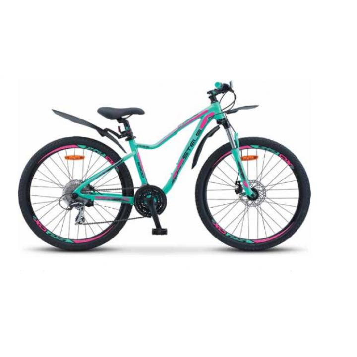 Велосипед горный Stels Miss 6300 MD disc V030 2021г. c дисковыми тормозами синий