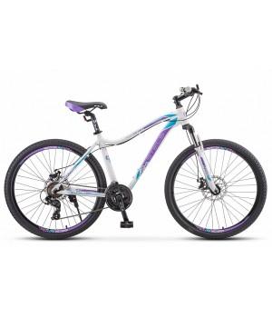 Велосипед горный Stels Miss 7500 MD disc V010 2021г. колесо 27,5 с дисковыми тормозами