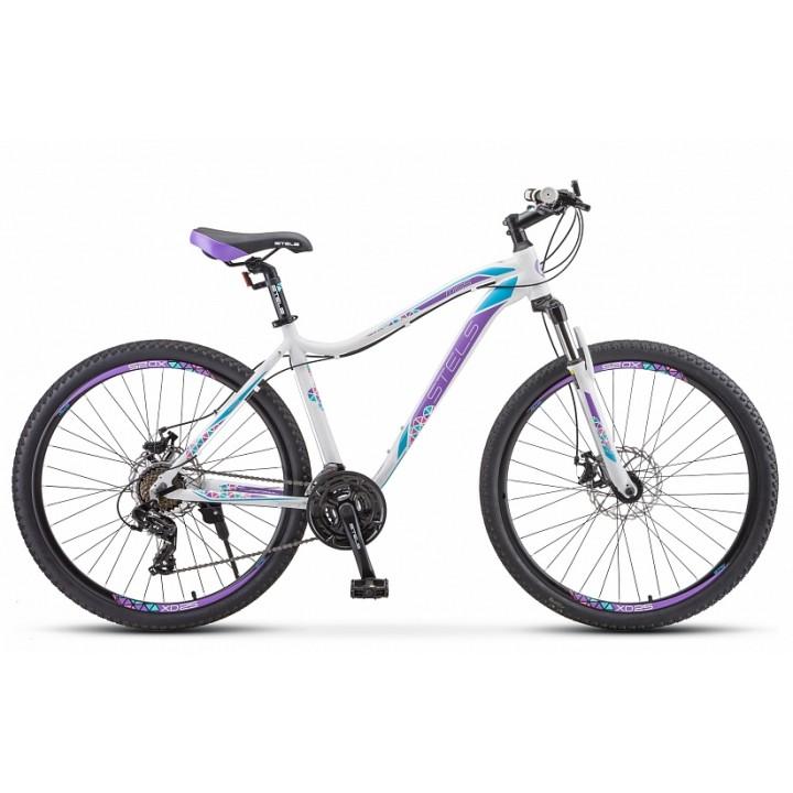 Велосипед горный Stels Miss 7500 MD disc 2021г. колесо 27,5 с дисковыми тормозами