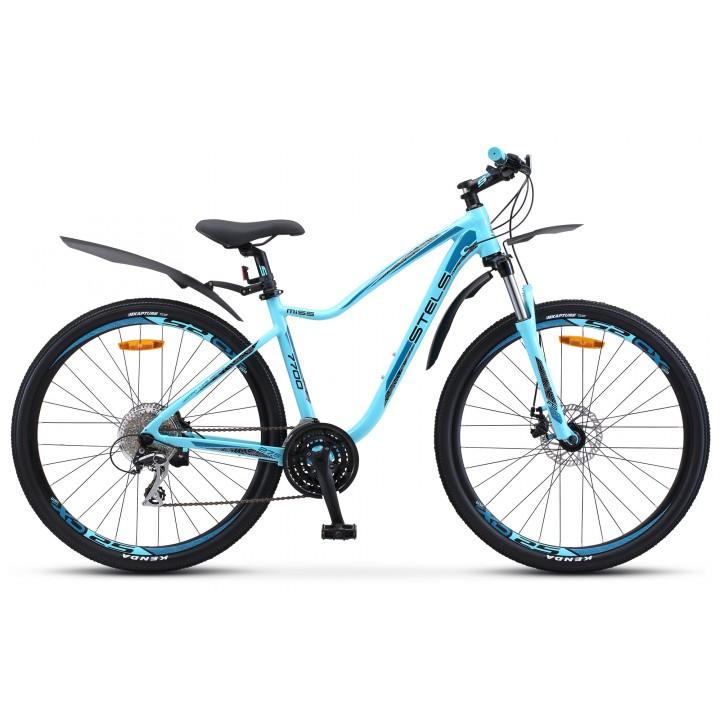 Велосипед горный Stels Miss 7700 MD disc  колесо 27,5 с дисковыми тормозами
