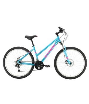Велосипед горный Stark Luna 26.1 MD голубой/ розовый