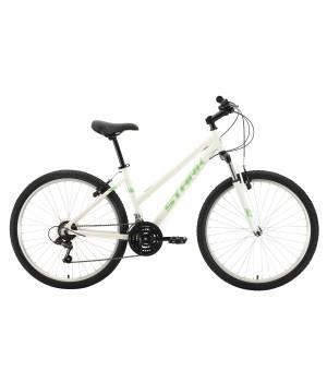 Велосипед горный Stark Luna 26.1 V белый/ салатовый