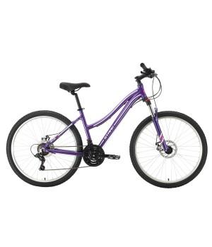 Велосипед горный Stark Luna 26.2 MD фиолетовый/ серебристый