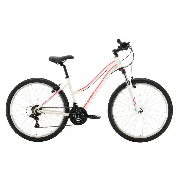 Велосипед горный Stark Luna 26.2 V белый/ розовый